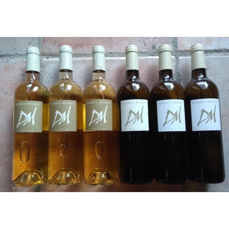 Carton dégustation - 6 bouteilles panachées